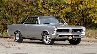 Download 1965 Pontiac GTO FOR SALE / 136333 Video