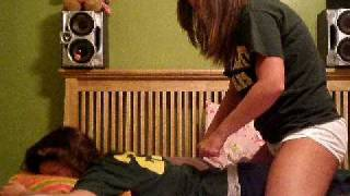 Download paige and kenzie tickle thearape Video