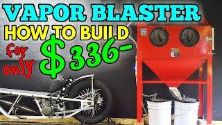 Download FULL: HOW TO BUILD A VAPOR BLAST CABINET HONING. CHEAP DIY BLASTER HONER Video