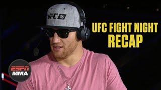 Download Justin Gaethje on Donald Cerrone win, Conor McGregor fight | UFC Fight Night Post Show | ESPN MMA Video
