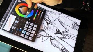 Download 電容式觸控筆 P507 Accu Pen drawing on Apple iPad2 Video