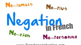 Download Negation in French - Part 2 Video