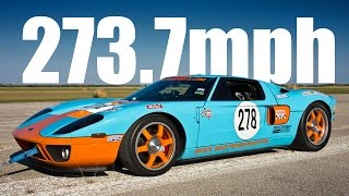 Download 273mph Ford GT - Texas Mile!!! Video