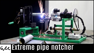Download Make it Extreme's plasma cutter notcher Video