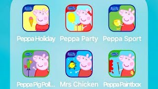 Download Peppa Pig: Holiday,Party Time,Sports Day,Polly Parrot,Happy Mrs Chicken,Paintbox Video