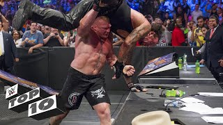 Download Big men breaking tables: WWE Top 10, Dec. 18, 2017 Video