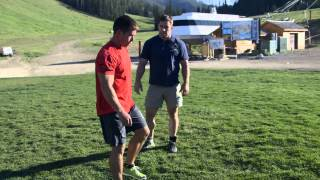 Download CrossFit - Challenging Dan and Rich: Backflips and Handstand Walks Video