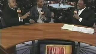 Download Bernard Hopkins and Roy Jones Jr. Interview 4/7/01 Video