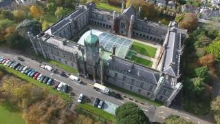 Download National University of Ireland Galway Aerial Footage 4K Video (2160p) Video