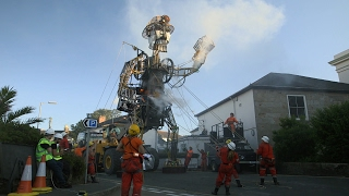 Download This Enormous 4-Ton Puppet is an Engineering Marvel! Video