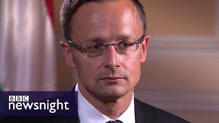 Download Hungary's Foreign Minister on Russia, Donald Trump and Brexit - BBC Newsnight Video
