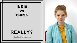 Download Is it really India Vs China? by Karolina Goswami Video
