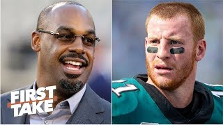 Download Donovan McNabb didn't owe Eagles fans an apology for Carson Wentz comments - Stephen A. | First Take Video