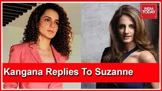 Download Stand United & Fight Those Who Harass Women : Kangana Replies To Suzanne Khan & Richa Dubey Video