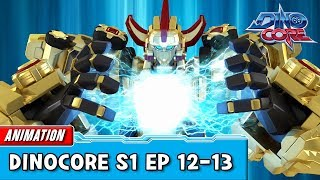Download [DinoCore] Compilation | S01 EP12 - 13 | Best Animation for Kids | TUBA Video