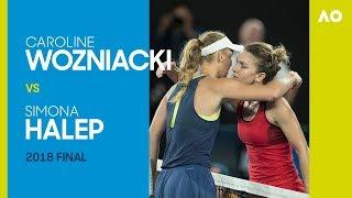 Download AO Classics: Caroline Wozniacki v Simona Halep (2018 F) Video
