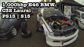 Download 1,000bhp E46 BMW | C32 Laural | PS13 | S15 | CraigDoesDrift //Ep18 Video