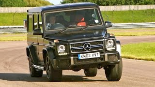 Download Testing The Mercedes G63 AMG #TBT - Fifth Gear Video