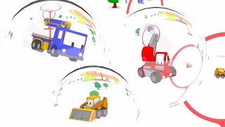 Download Big Bubbles & the Giant Slide - Learn with Tiny Trucks | Educational cartoons for Kids 🏆🎨 Video