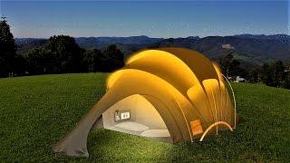 Download 25 World's Craziest Tents Video