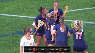 Download Highlights | Syracuse vs. Princeton | NCAA 1st Round Video