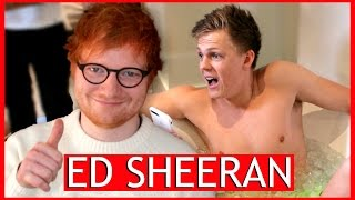 Download Ed Sheeran - BRAIN FREEZE CHALLENGE Video