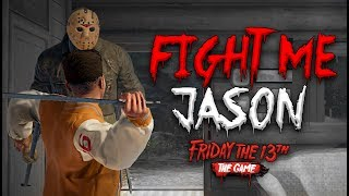 Download Fight Me Like A Man Jason! | Friday the 13th (WARNING - Sissy Screams Gameplay) Video