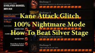 Download WWE Immortals - Kane Attack Glitch - Nightmare 100% How To Silver Challenge Video