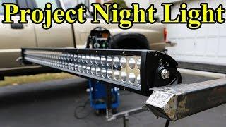 Download Custom LED Light Bar Build (Part 1 ″Project Night Light″) Video