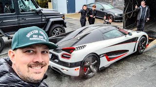 Download SOMEHOW I FOUND MYSELF IN A KOENIGSEGG AGERA RS! *DELIVERY DAY* Video