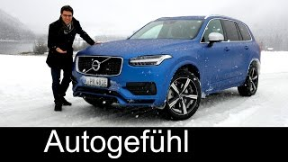 Download All-new Volvo XC90 T8 AWD R-Design FULL REVIEW test driven - the dream Volvo 2016/2017 neuer Video
