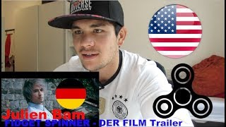 Download AMERICAN REACTS to GERMAN YOUTUBER *JULIEN BAM FIDGET SPINNER TRAILER* Video