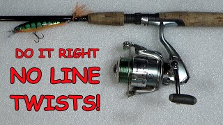 Download Putting Line On A Spinning Reel Video