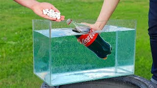 Download Experiment: Coca Cola and Mentos Under Water Video