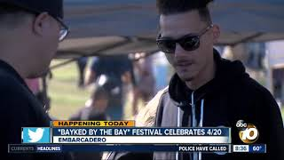 Download ″Bayked by the bay″ festival celebrates 4/20 Video