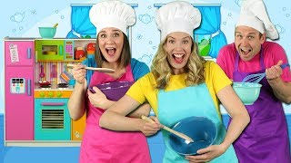 Download Cooking in the Kitchen - Kids Song - Pretend Play Cooking with Fun Food for Kids Video