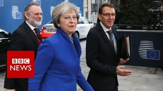 Download EU leaders agree Brexit deal - BBC News Video