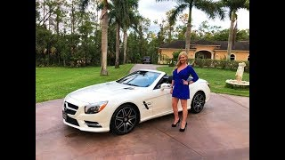 Download 2015 Mercedes-Benz SL550 White Arrow Edition Review w/MaryAnn For Sale By: AutoHaus of Naples Video