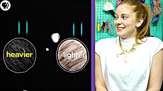 Download Can you solve these physics riddles? ft Simone Giertz - Part 1/3 Video