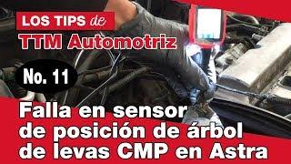 Download Falla en sensor de posición de árbol de levas CMP en Astra Video