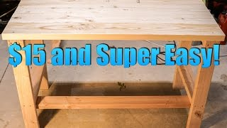 Download Build a Super CHEAP and EASY Desk! Video