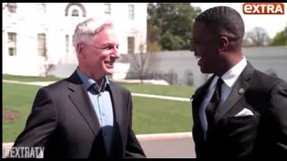 Download NCIS S13x22: Homefront. Mark Harmon talking about Michelle Obama Video