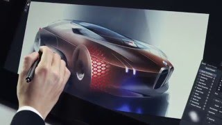 Download The BMW VISION NEXT 100 - Making of - Design Sketches | AutoMotoTV Video