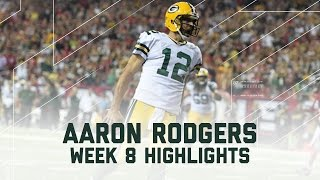 Download Aaron Rodgers' 4-Touchdown Day! | Packers vs. Falcons | NFL Week 8 Player Highlights Video