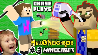 Download HE LOVES MILK!? HELLO NEIGHBOR MOD 4 MINECRAFT! Chase plays Alpha 3 House Showcase FGTEEV Randomness Video