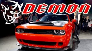 Download 2018 Dodge Demon: REVEAL IN NYC (Upclose Look & Meeting Dodge VIPs) Video
