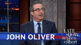 Download John Oliver Got To Meet Beyoncé... Kind Of Video
