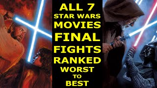Download 7 Star Wars Lightsaber Duels Ranked Worst to Best - Ranked #19 Video