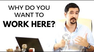 Download Why Do You Want To Work Here? Learn How To Answer This Job Interview Question ✓ Video
