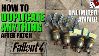 Download Fallout 4 | How to Get Unlimited Ammo AFTER PATCH! - Dogmeat Duplication Exploit (Fallout 4 Exploit) Video
